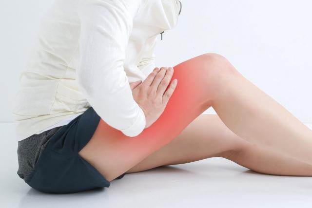 大腿四頭筋 痛み 太もも 前