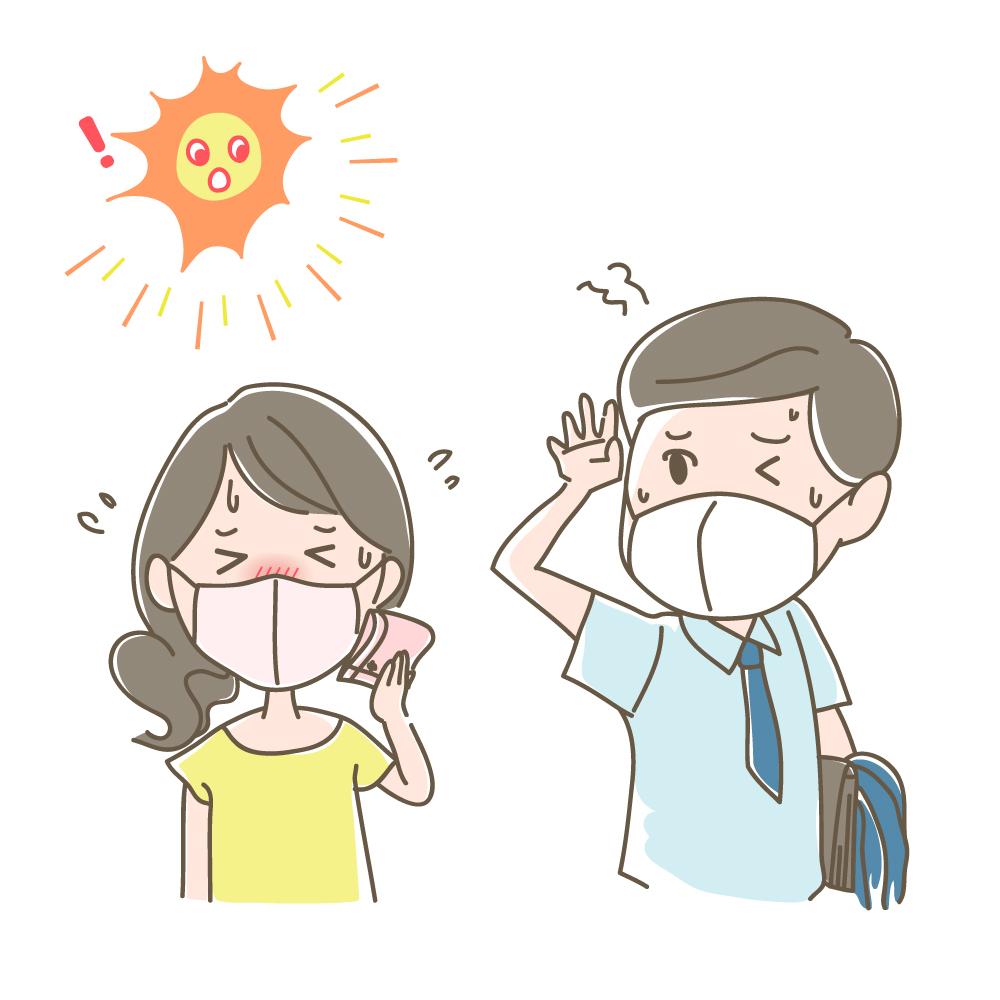 マスクと熱中症