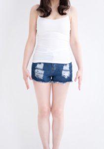 ショートパンツ 女性