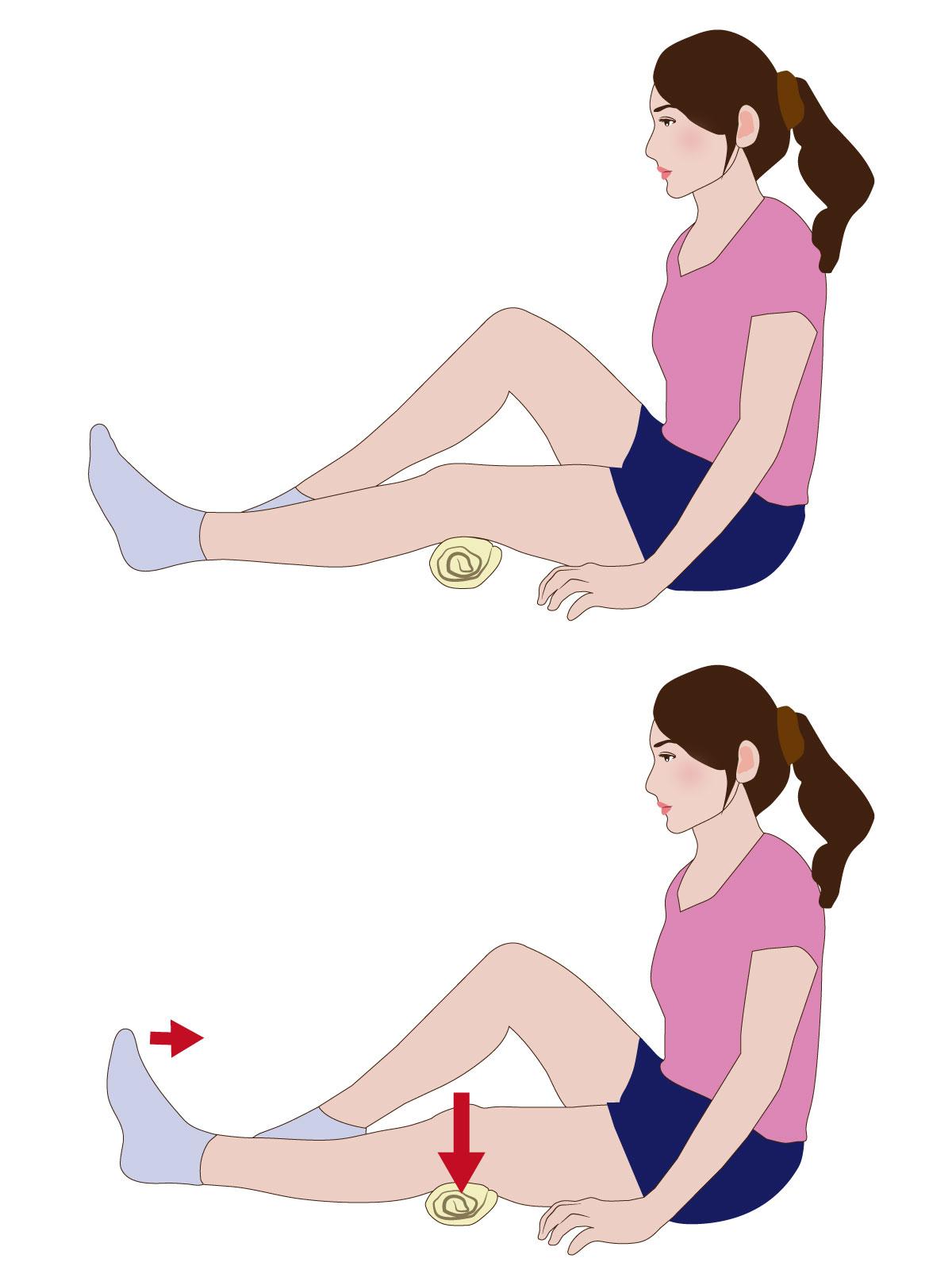 膝関節周囲の筋力トレーニング
