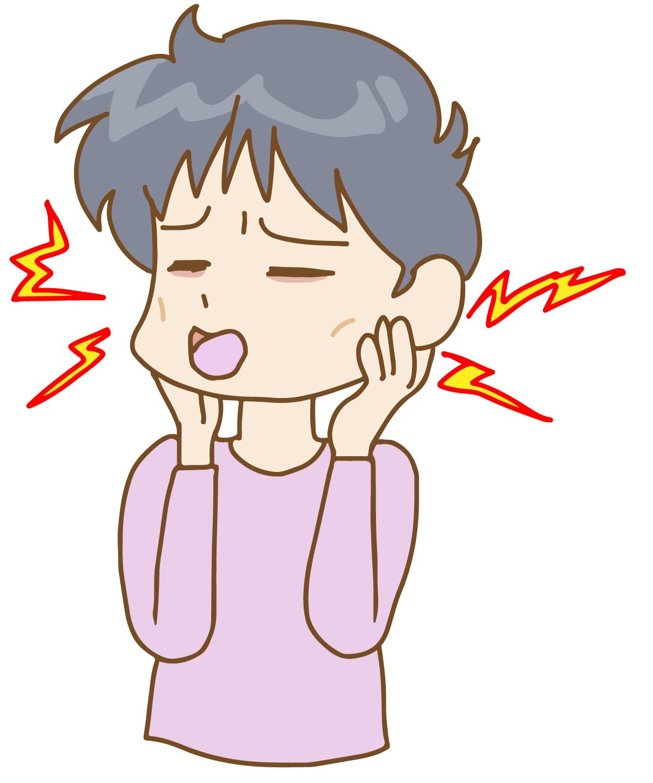 変形性顎関節症 イラスト