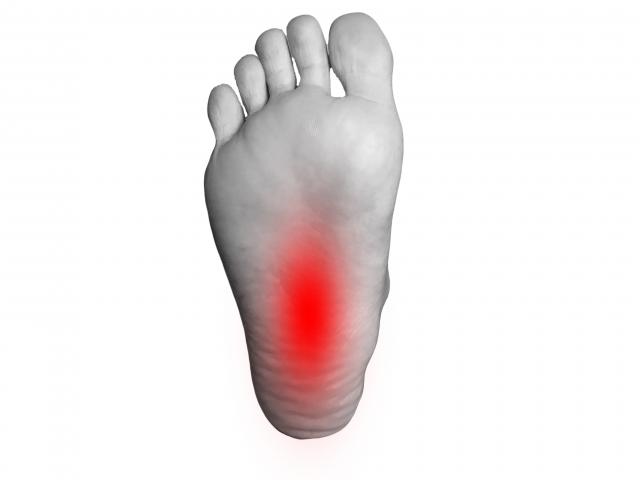 足底の痛み