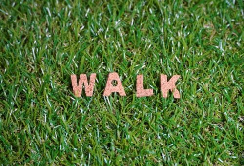 walk 文字